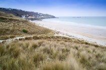 Sennen Cove Strand und Dünen — Stockfoto