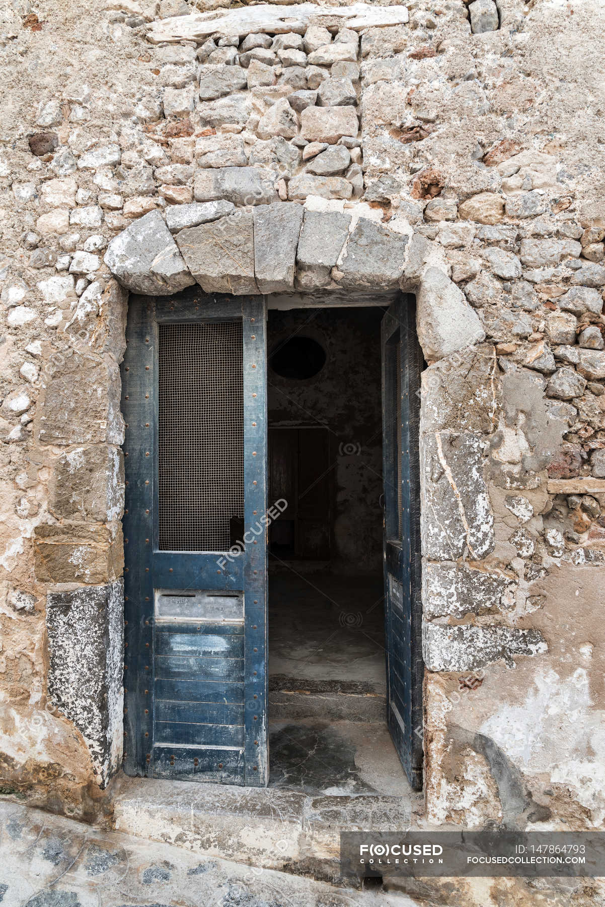 & Old workshop door \u2014 Stock Photo | #147864793