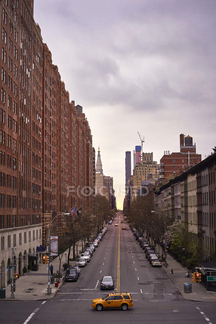 Scena di strada di New york — Foto stock