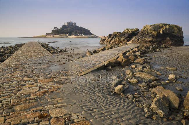 Percorso a St Michaels Mount — Foto stock