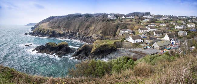 Panorama von Cadgwith Dorf — Stockfoto