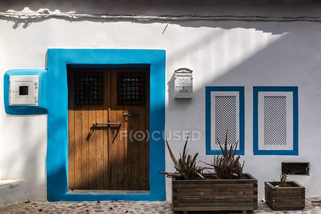 Tipica casa in stile mediterraneo — Foto stock