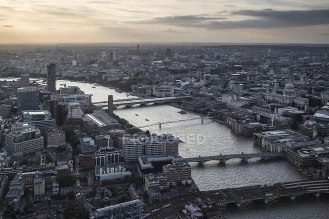 London City Luftaufnahme — Stockfoto