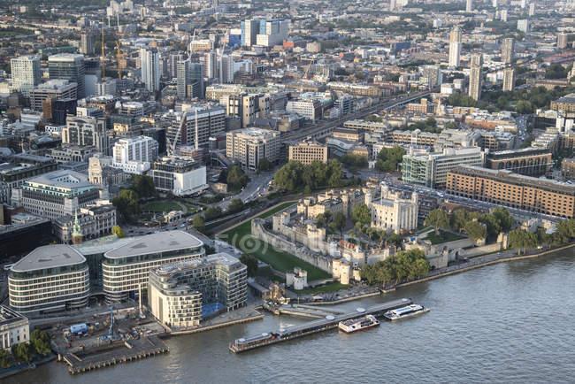 Вид на Лондон — стоковое фото