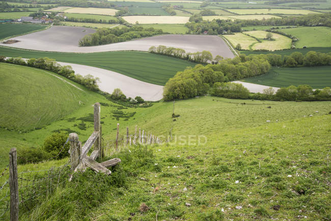 Paisagem rural inglesa — Fotografia de Stock