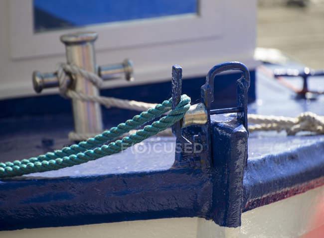 Proa del viejo velero - foto de stock