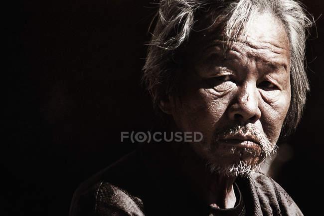 Thai mature bearded man — Stock Photo
