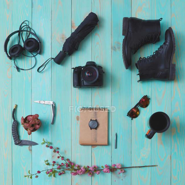 Concetto di viaggio e week-end — Foto stock