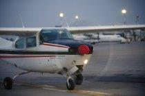 Cessna 210 turbo in motion — Stock Photo