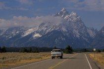 Grand Tetons mountains — Stock Photo