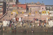 Ganges riverbank, Varanasi — Stock Photo