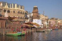 Vishraam Ghat on Yamuna River — Stock Photo