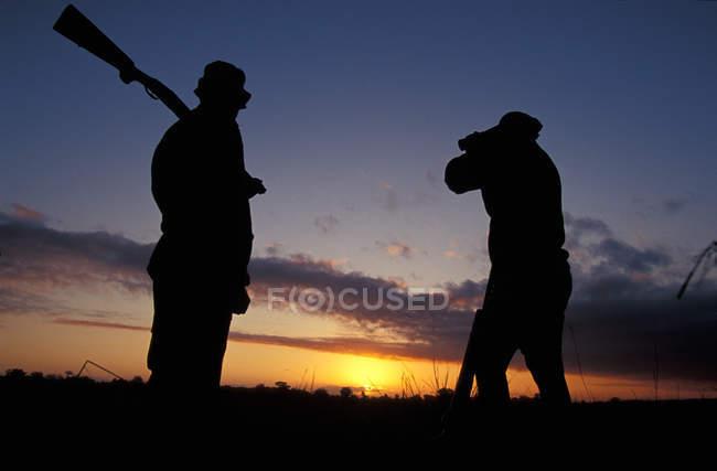 Tanzania, gran juego de caza - foto de stock