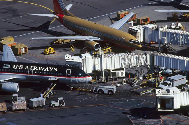 Los Angeles International airport — Stock Photo
