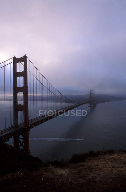 San francisco, el puente Golden gate - foto de stock