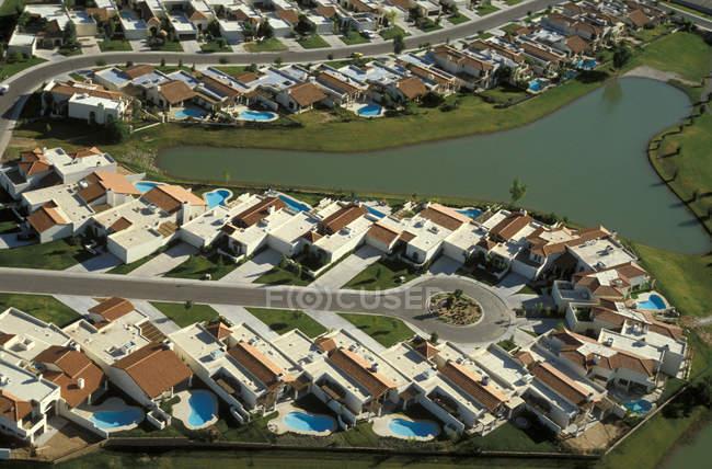 Phoenix, suburb residential village — Stock Photo
