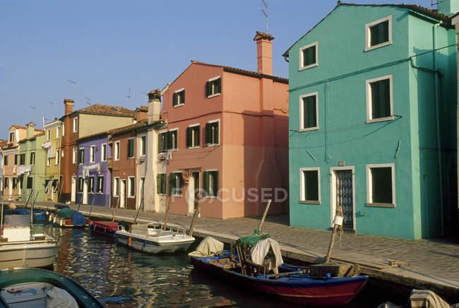 Veneto, Burano Island — Photo de stock