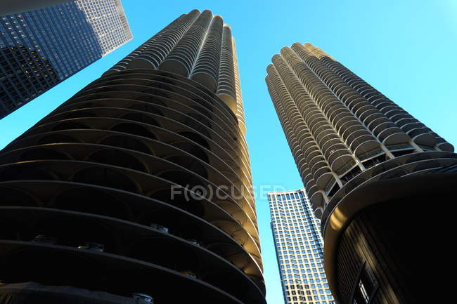 Chicago, view of the Marina Towers — Stock Photo