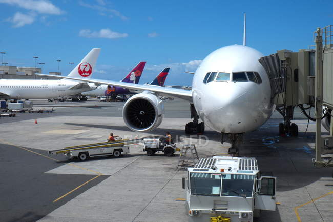 Flugzeug Airbus A330 — Stockfoto