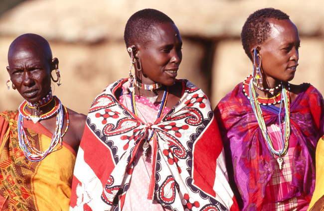 Kenia, Masai-Frauen — Stockfoto