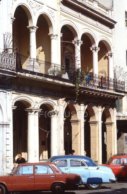Гавана, Malacon старого города — стоковое фото