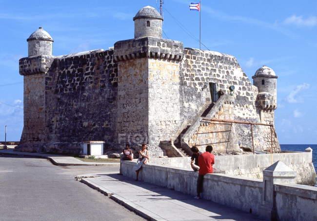 L'Avana, il Castillo la Fuerza — Foto stock