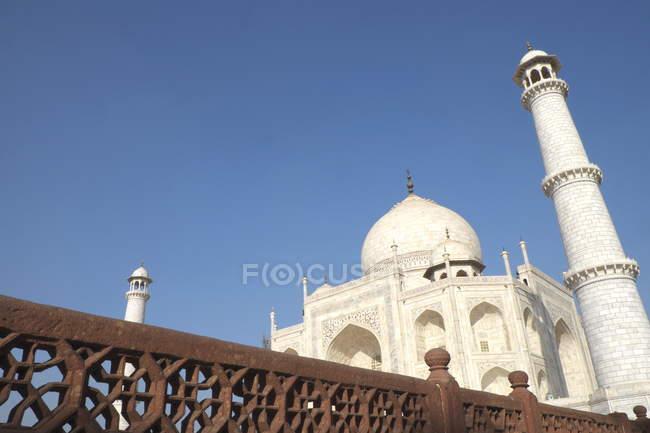 Ancient Taj Mahal — Stock Photo