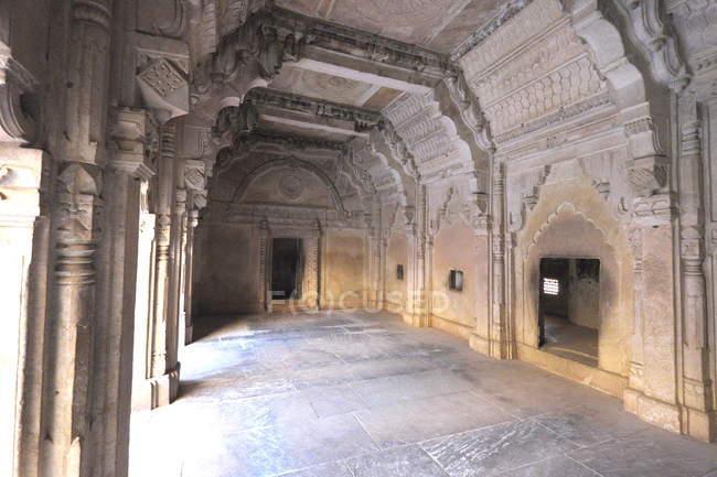 Interni di Mansingh Palace — Foto stock