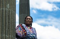 Maya woman in Quetzaltenango — Stock Photo
