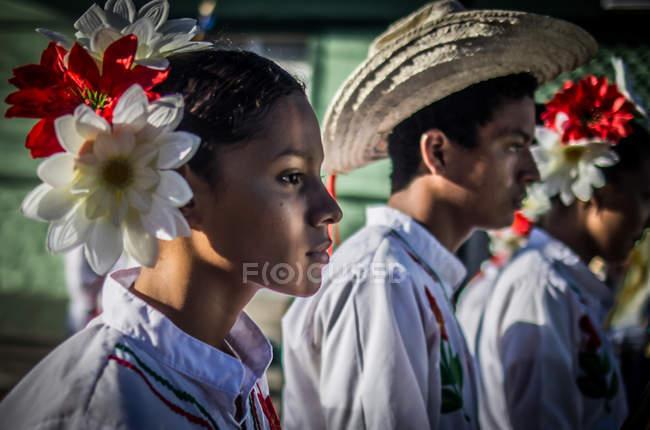 Парад в Гранаді, Нікарагуа — стокове фото
