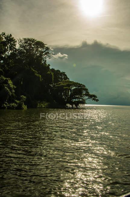 Vista de uma ilha em Solentiname — Fotografia de Stock