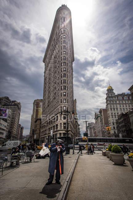Edificio Flatiron, Manhattan - foto de stock