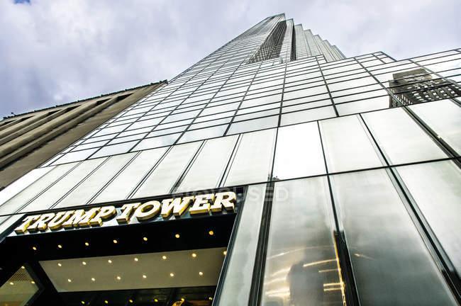 Trump Tower, Manhattan — Foto stock