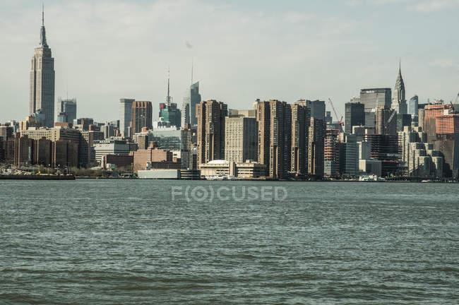 Vue du quartier de Manhattan — Photo de stock