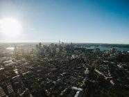 Luftaufnahme der Innenstadt von Sydney — Stockfoto