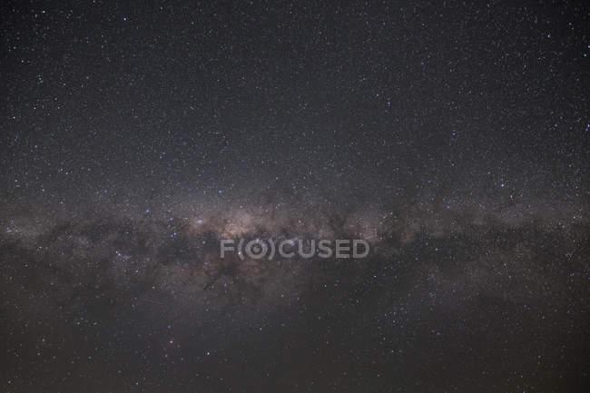 Night sky full of stars — Stock Photo