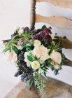 Boda arreglo floral - foto de stock
