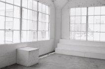 Minimalistic studio interior — Stock Photo