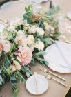 Wedding floral arrangement — Stock Photo