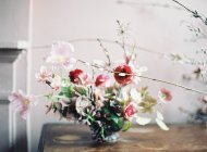 Hermoso arreglo floral - foto de stock