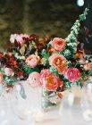 Ramo de flores frescas - foto de stock