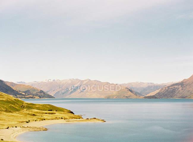 Litoral na ilha remota — Fotografia de Stock