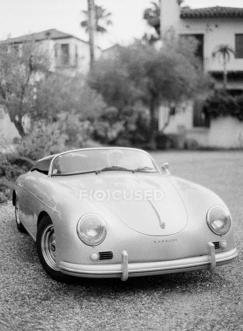 Vintage Porsche carro cabriolet — Fotografia de Stock