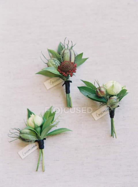 Весільні Квіткові композиції — стокове фото