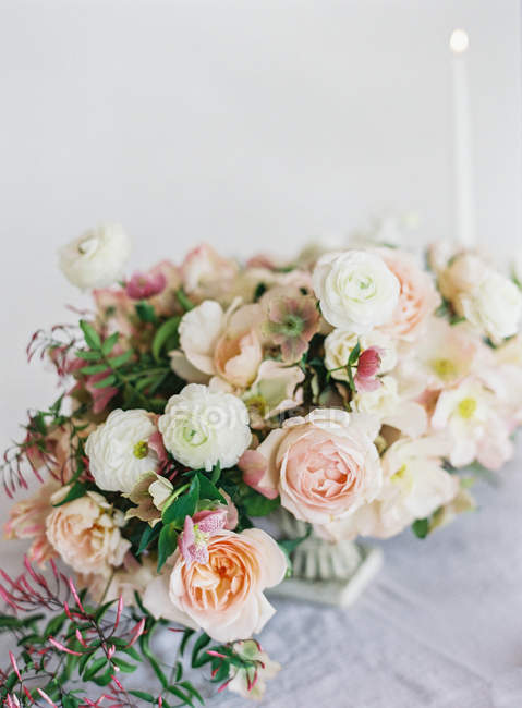 Floral wedding design — Stock Photo