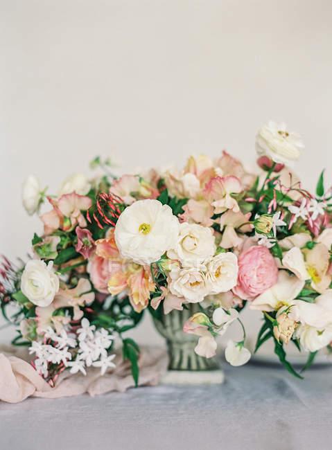 Свадебные цветочные дизайн — стоковое фото
