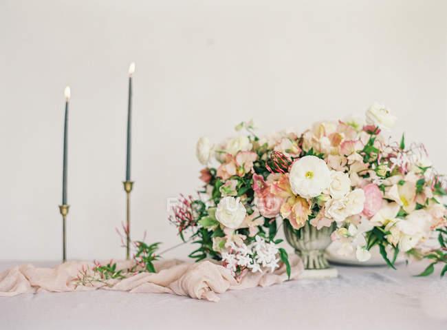 Floral wedding design — Stock Photo
