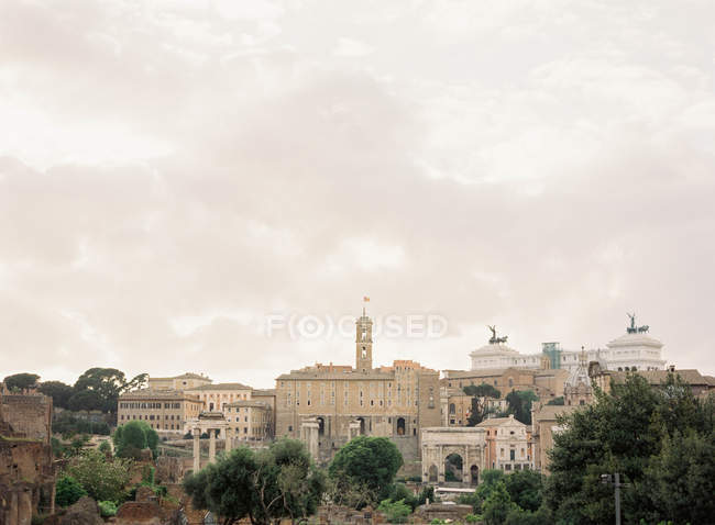 Capitólio em Roma — Fotografia de Stock