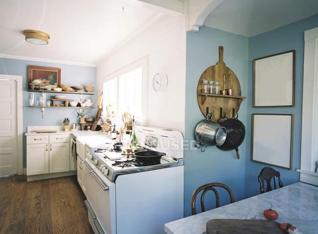 Внутрішня кухня — стокове фото