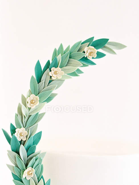 Wreath decoration details — Stock Photo